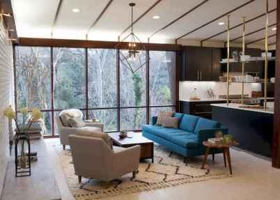 Cool mid century living room decor ideas (46)