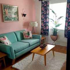 Cool mid century living room decor ideas (64)