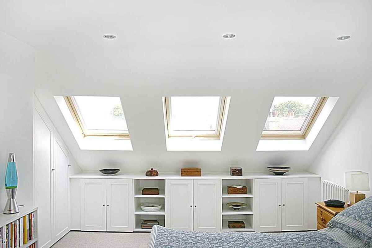 Cozy attic loft bedroom design & decor ideas (18)