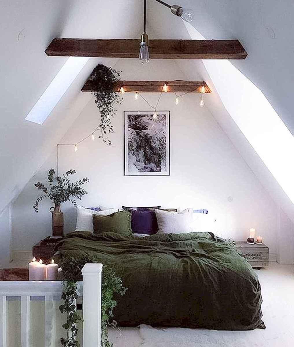 Cozy attic loft bedroom design & decor ideas (2)