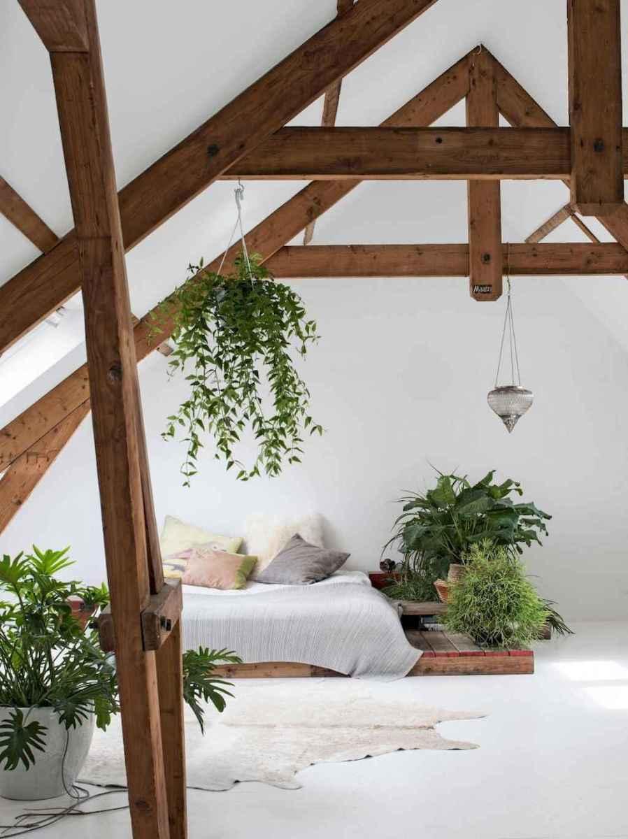 Cozy attic loft bedroom design & decor ideas (27)