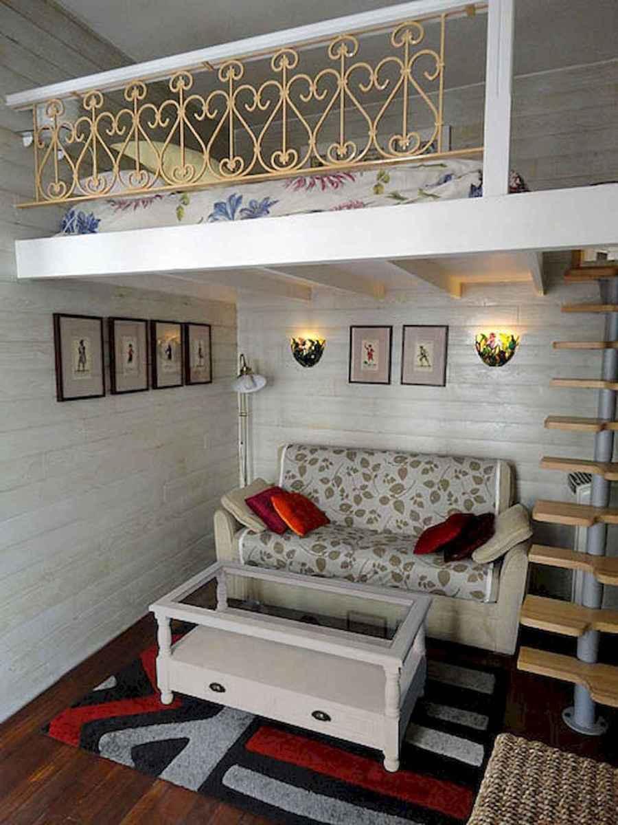 Cozy attic loft bedroom design & decor ideas (34)