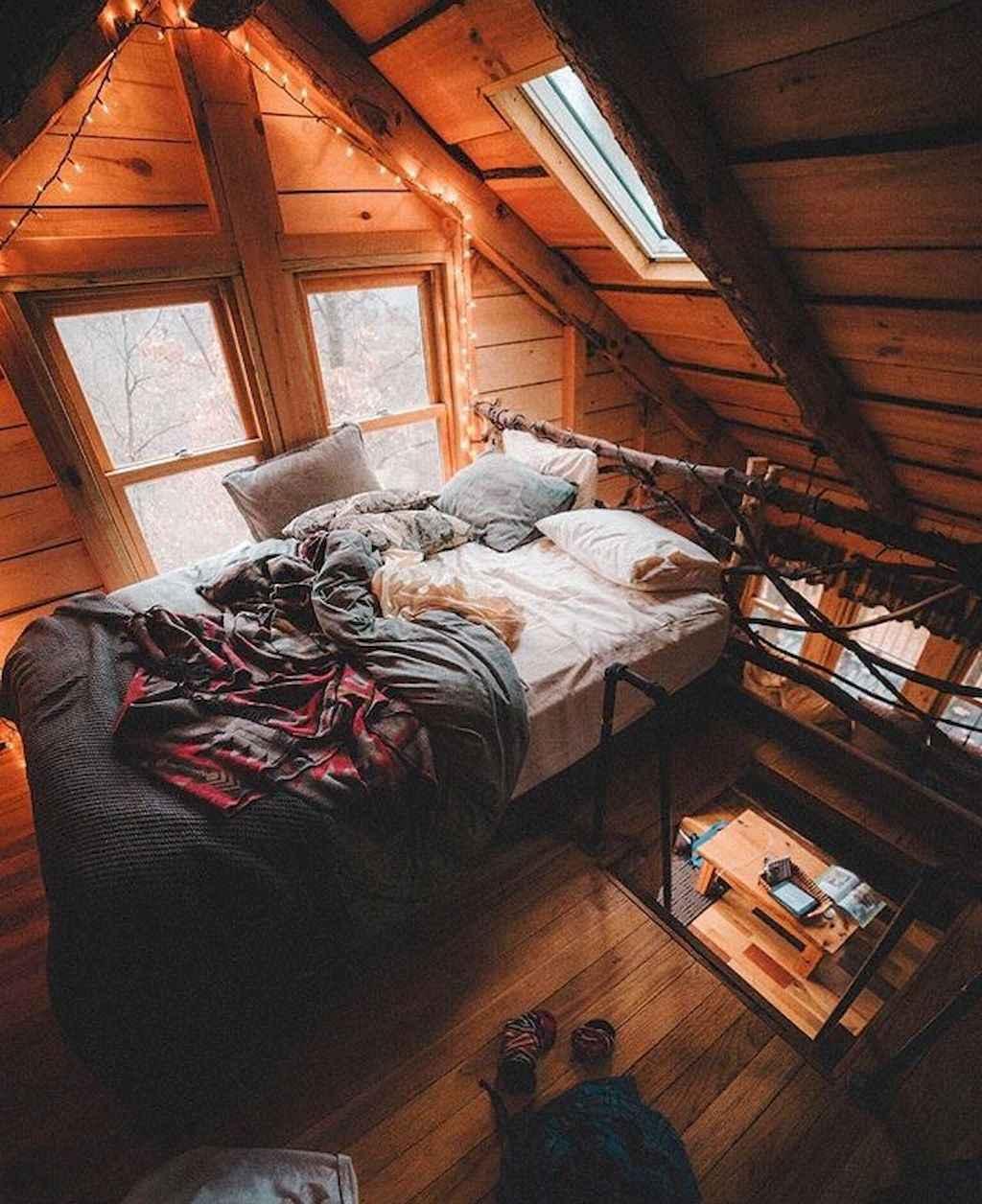 Cozy Attic Loft Bedroom Design Amp Decor Ideas 7