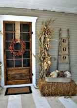 Creative diy fall porch decorating ideas (29)