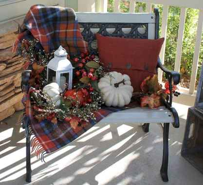 Creative diy fall porch decorating ideas (45)