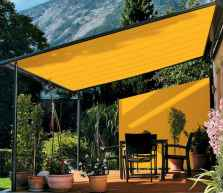 Diy shade canopy ideas for patio & backyard decoration (7)