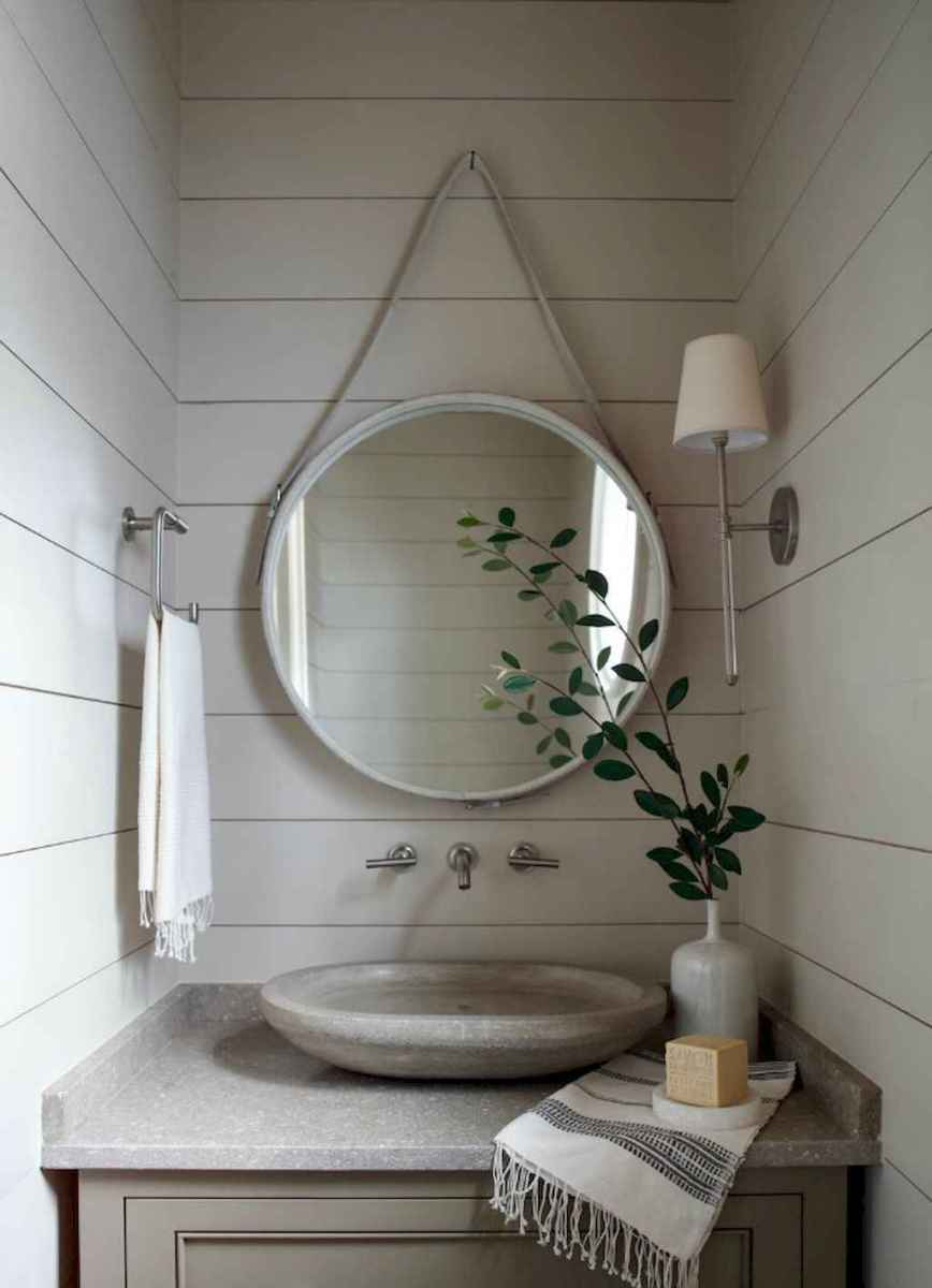 Fresh and cool powder room design & decoration ideas (17)