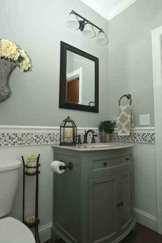 Fresh and cool powder room design & decoration ideas (25)