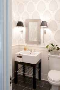 Fresh and cool powder room design & decoration ideas (44)
