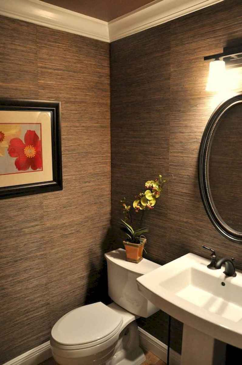 Fresh and cool powder room design & decoration ideas (47)