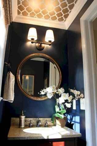 Fresh and cool powder room design & decoration ideas (52)