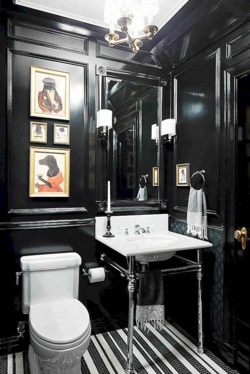 Fresh and cool powder room design & decoration ideas (55)
