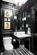 Fresh and cool powder room design & decoration ideas (55)
