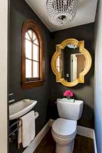 Fresh and cool powder room design & decoration ideas (58)