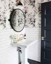 Fresh and cool powder room design & decoration ideas (60)