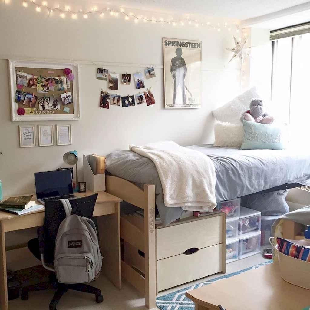 Genius dorm room organization ideas on a budget (20)