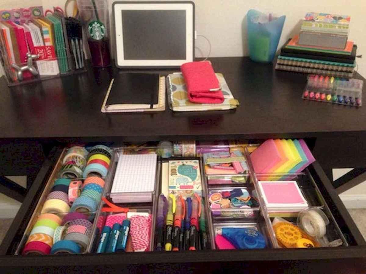 Genius dorm room organization ideas on a budget (34)