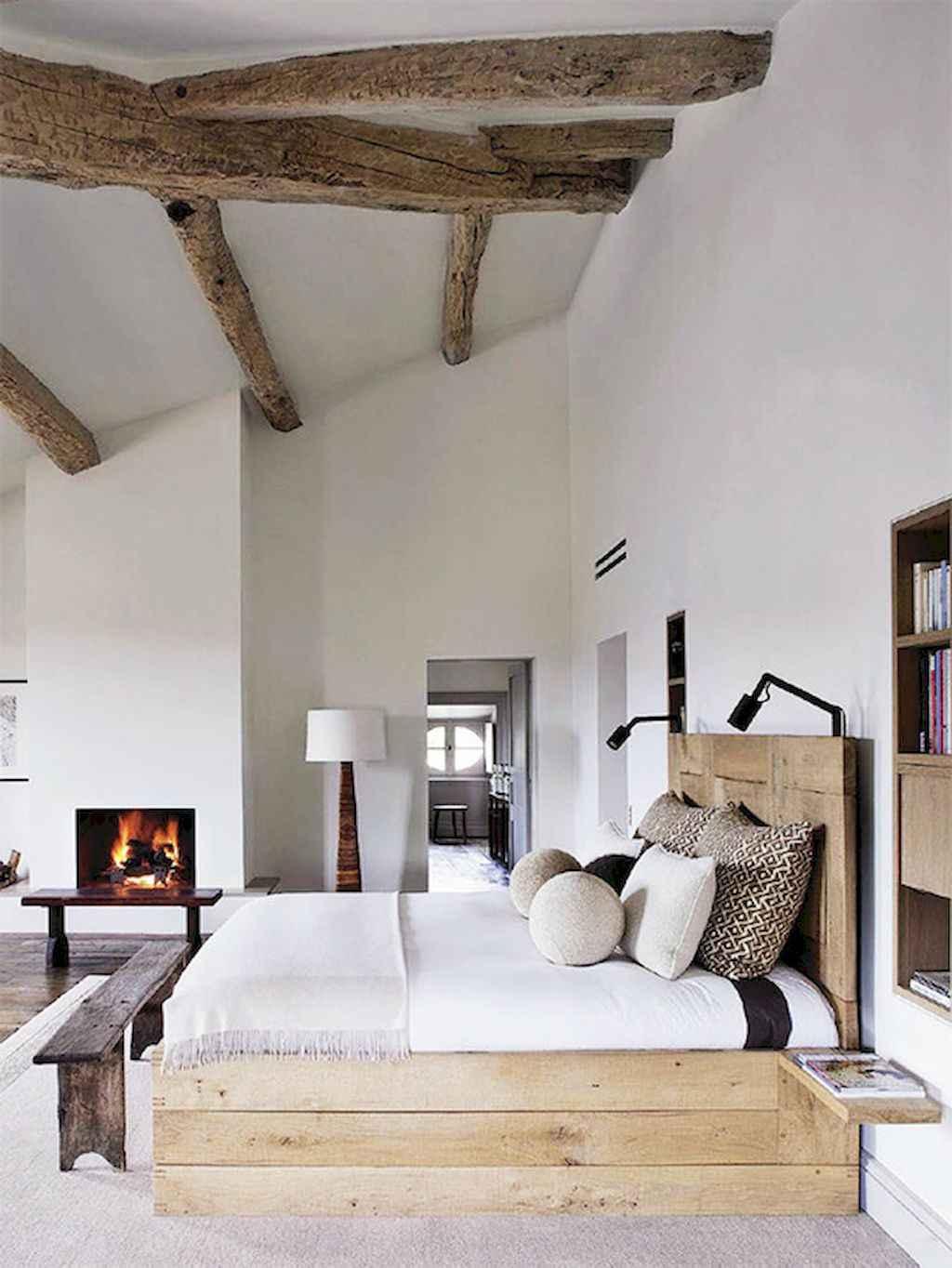 Gorgeous rustic master bedroom design & decor ideas (10)