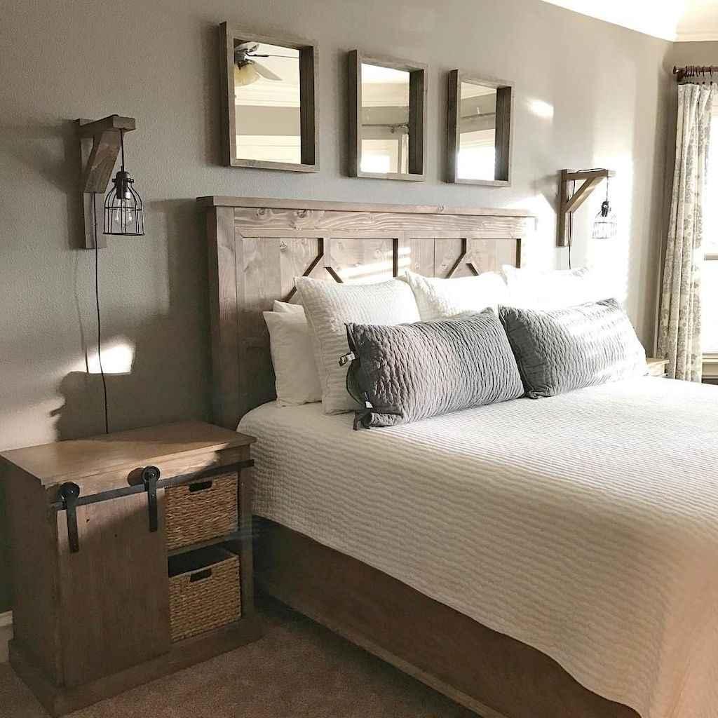 Gorgeous rustic master bedroom design & decor ideas (12)