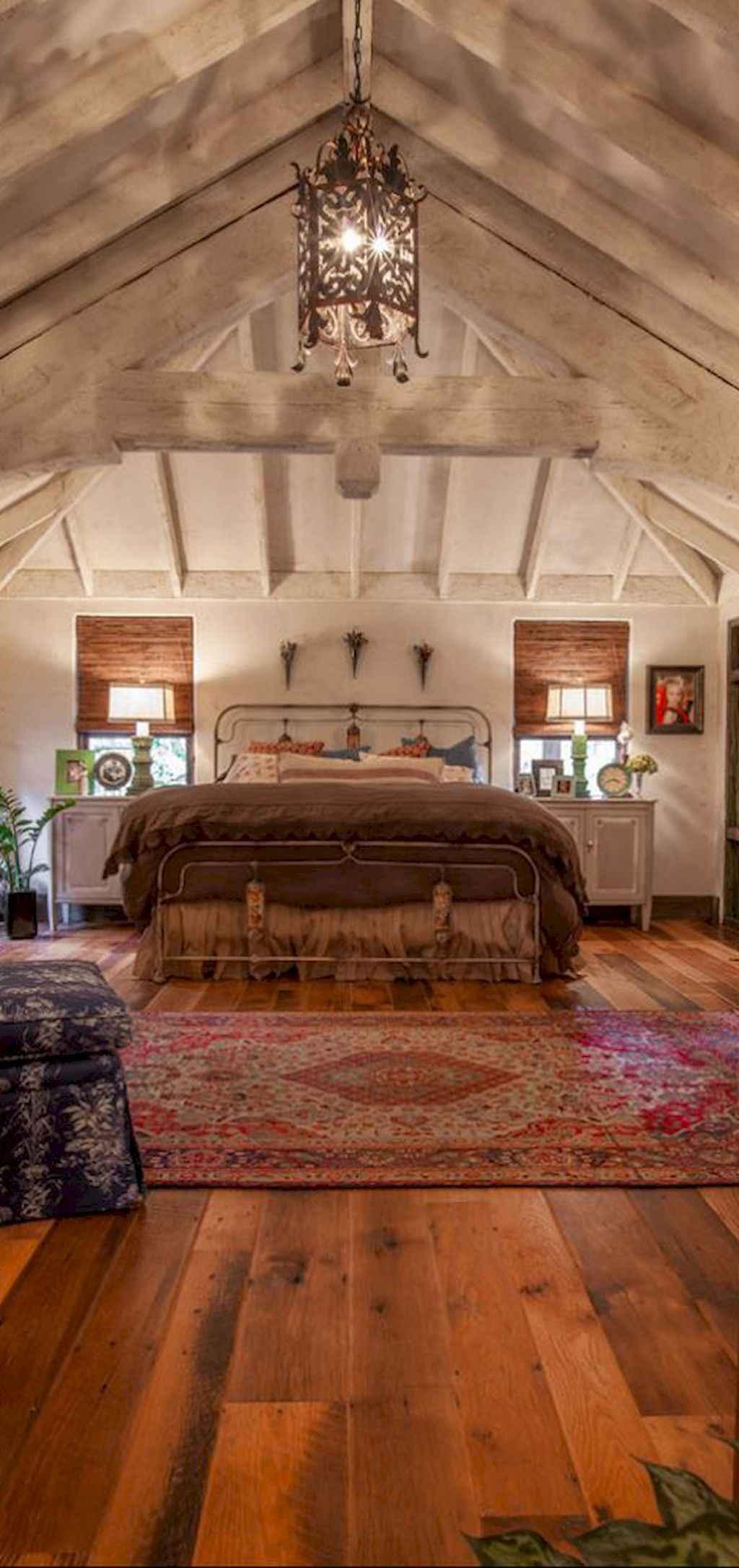 Gorgeous rustic master bedroom design & decor ideas (23)