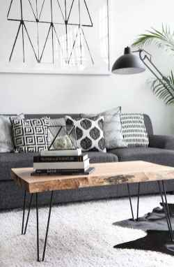 Gorgeous scandinavian living room design trends (65)