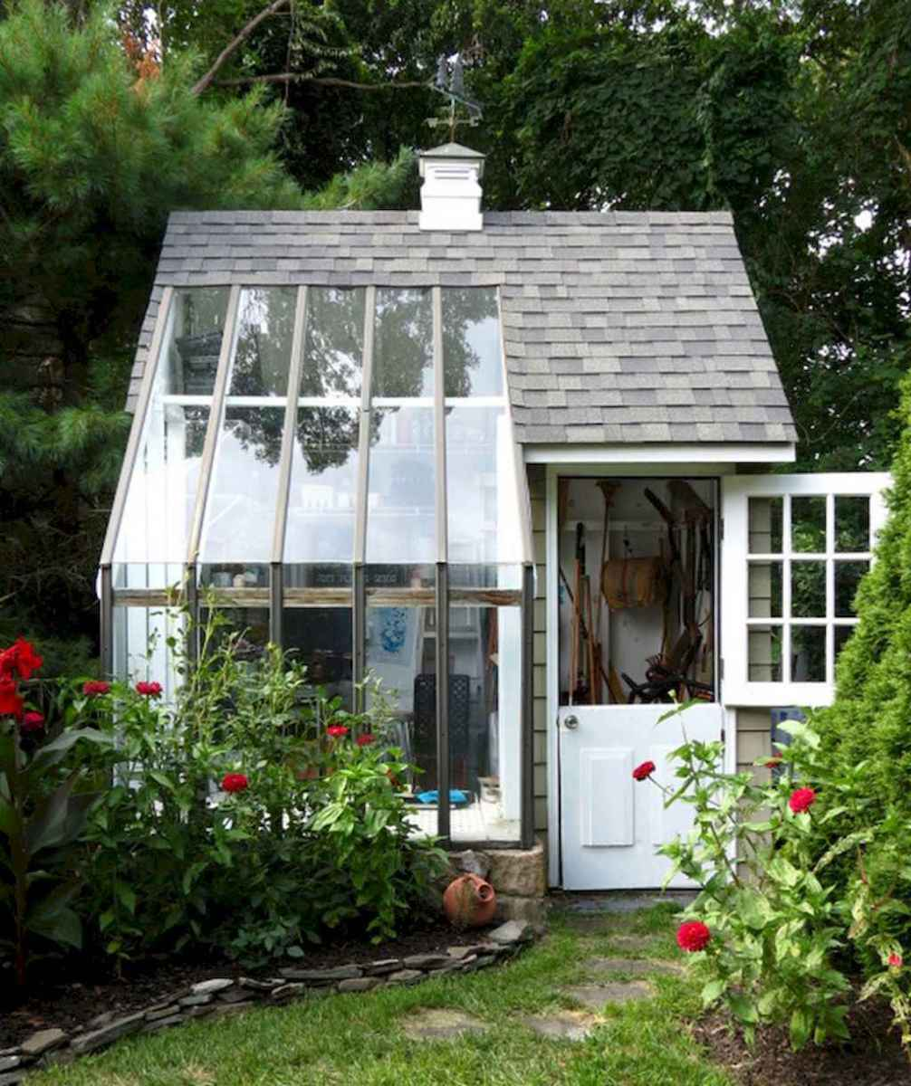 Incredible backyard storage shed makeover design ideas (14)