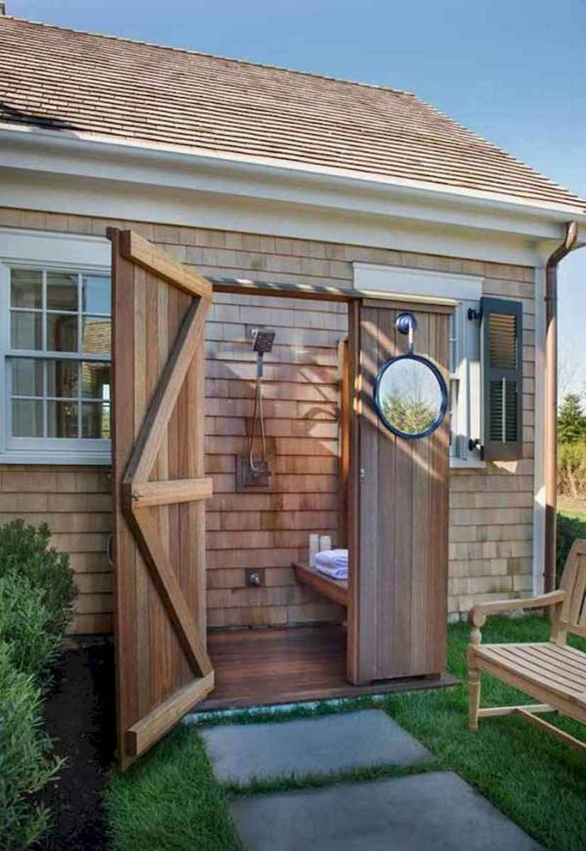 Incredible backyard storage shed makeover design ideas (36)