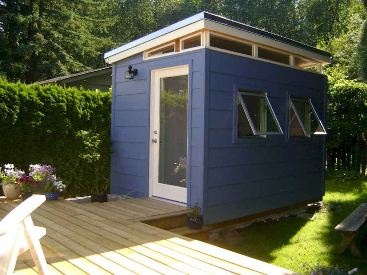 Incredible backyard storage shed makeover design ideas (46)