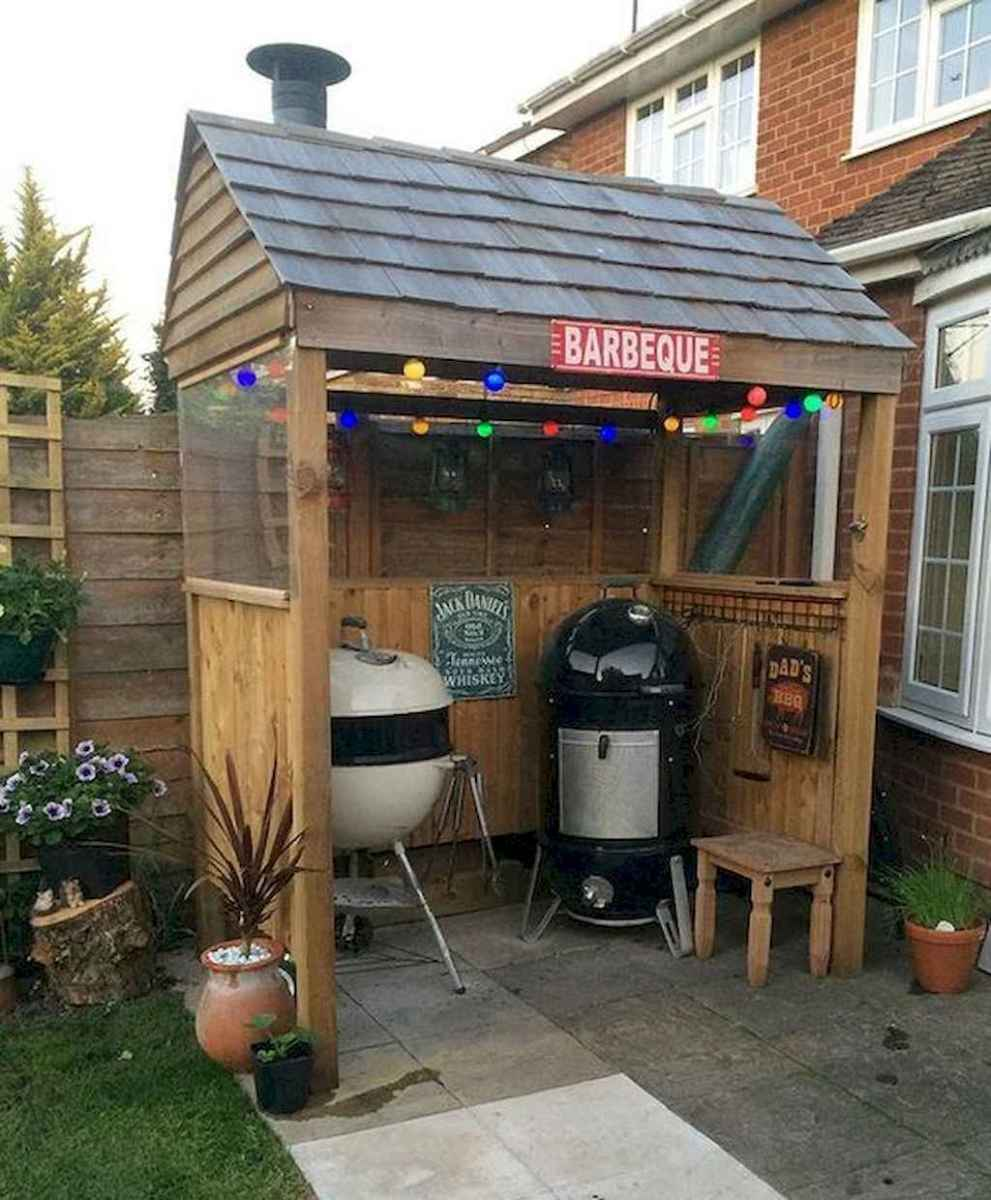 Incredible backyard storage shed makeover design ideas (67)