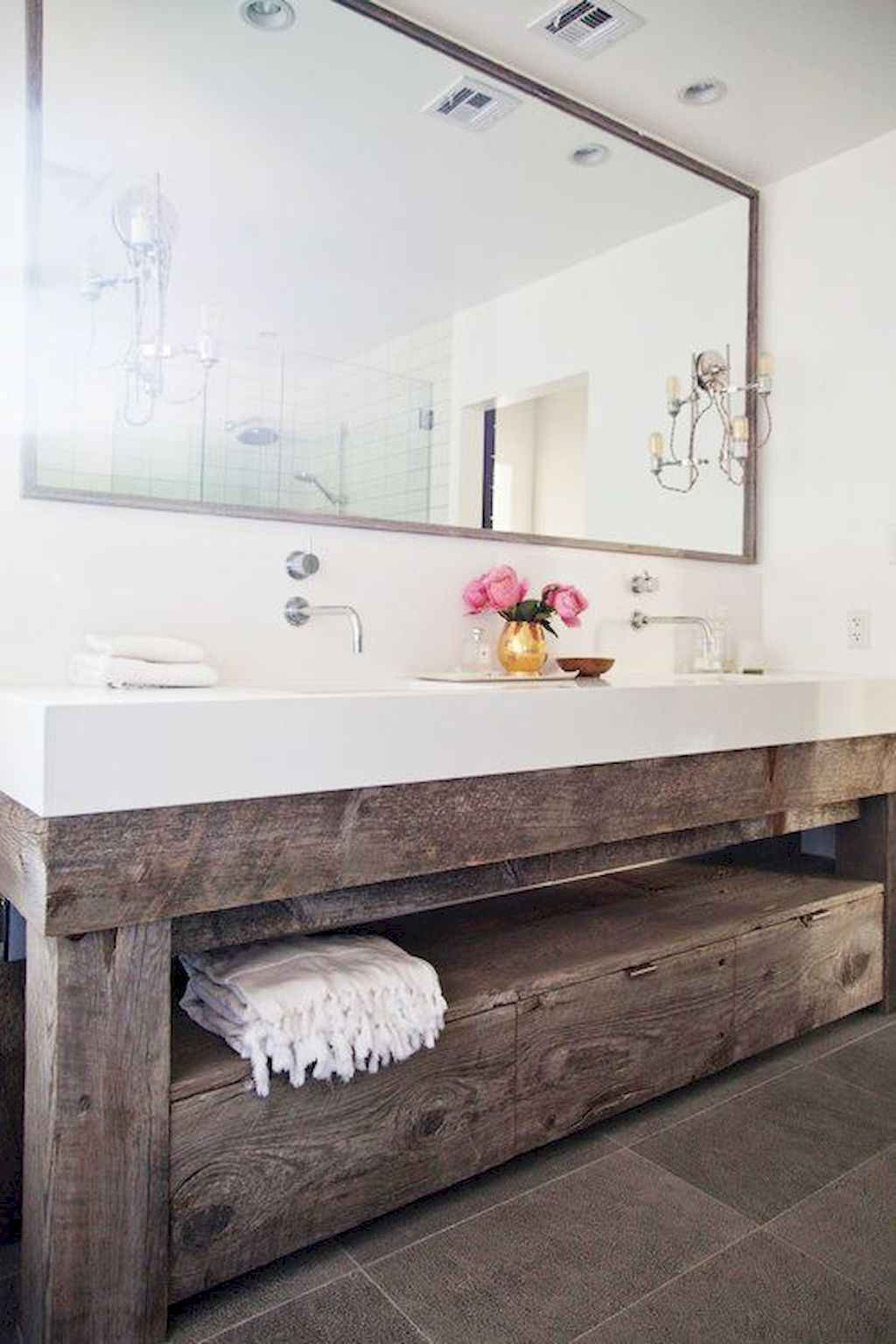 Inspiring rustic bathroom decor ideas (14)