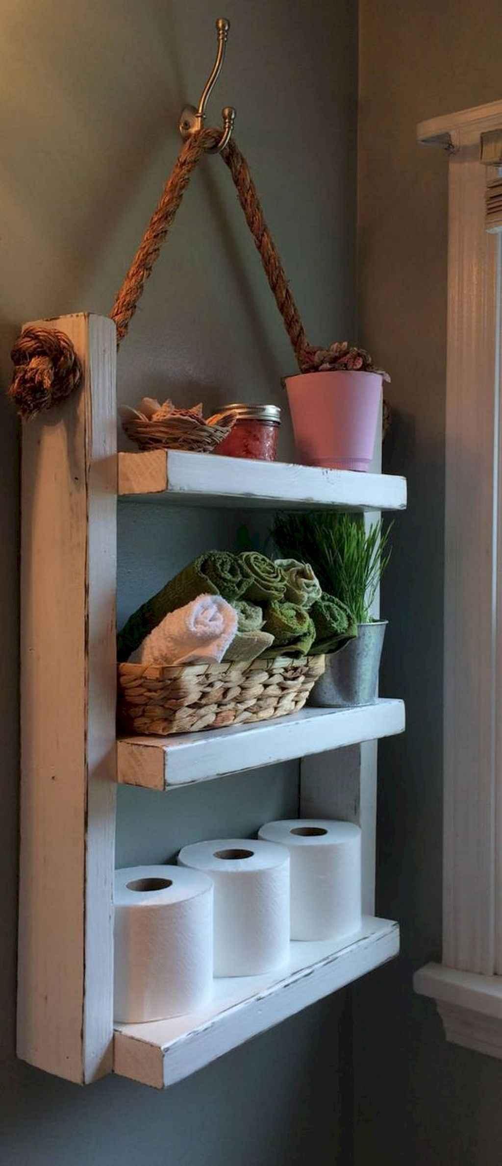Inspiring rustic bathroom decor ideas (24)