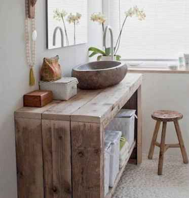 Inspiring rustic bathroom decor ideas (26)
