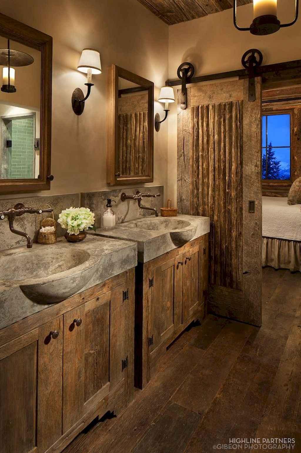 Inspiring rustic bathroom decor ideas (7)