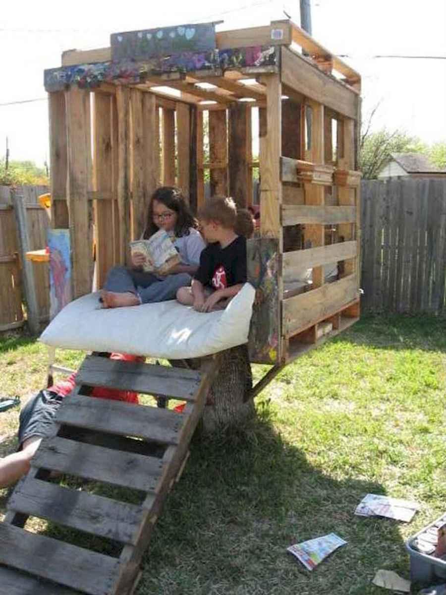 Magically sweet backyard playhouse ideas for kids garden (13)