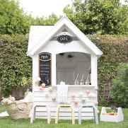 Magically sweet backyard playhouse ideas for kids garden (28)