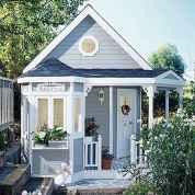 Magically sweet backyard playhouse ideas for kids garden (4)