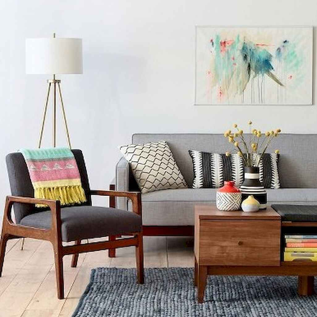 Mid century modern home decor & furniture ideas (20)