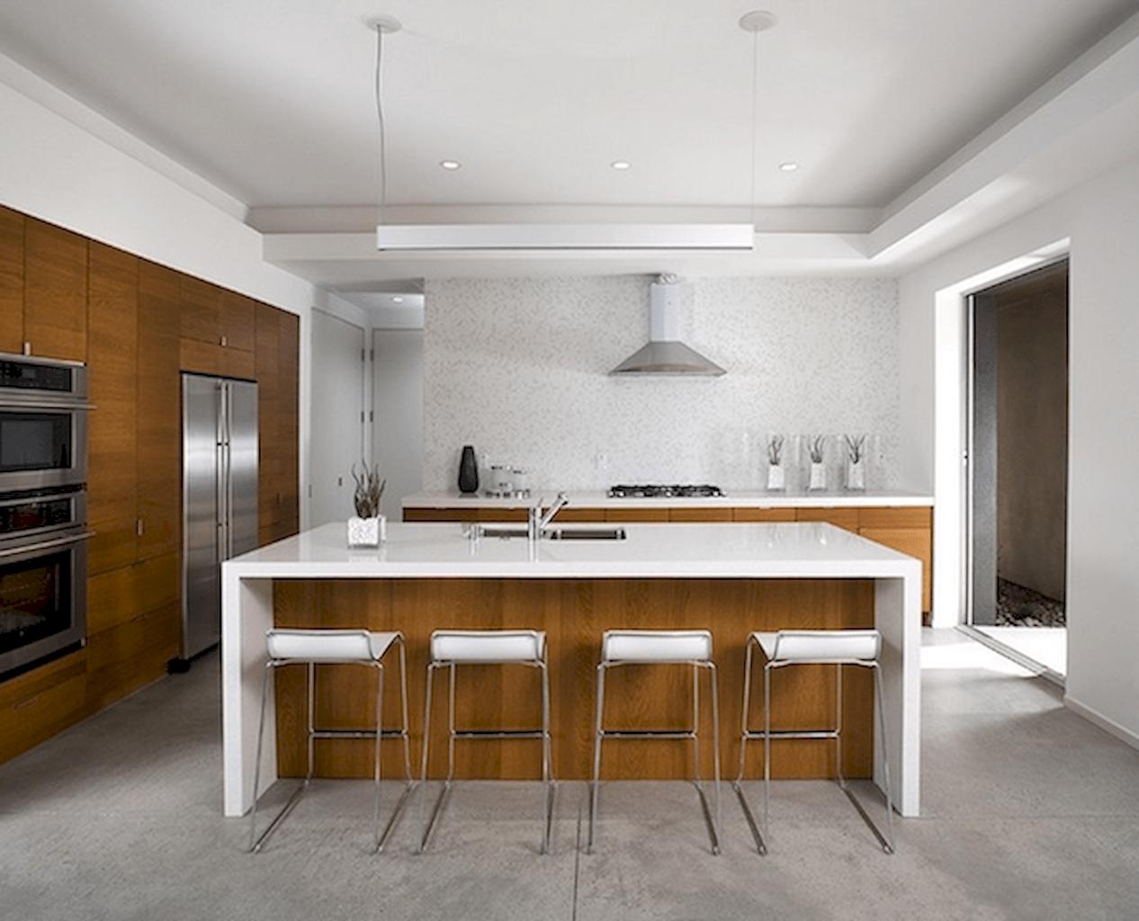 Mid century modern kitchen design ideas (10)