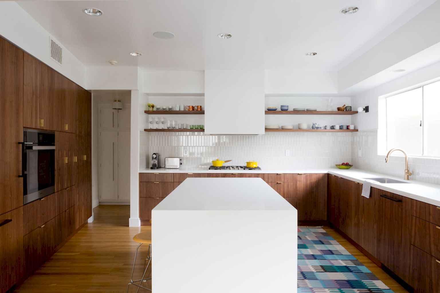 Mid century modern kitchen design ideas (17)