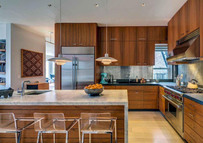 Mid century modern kitchen design ideas (27)