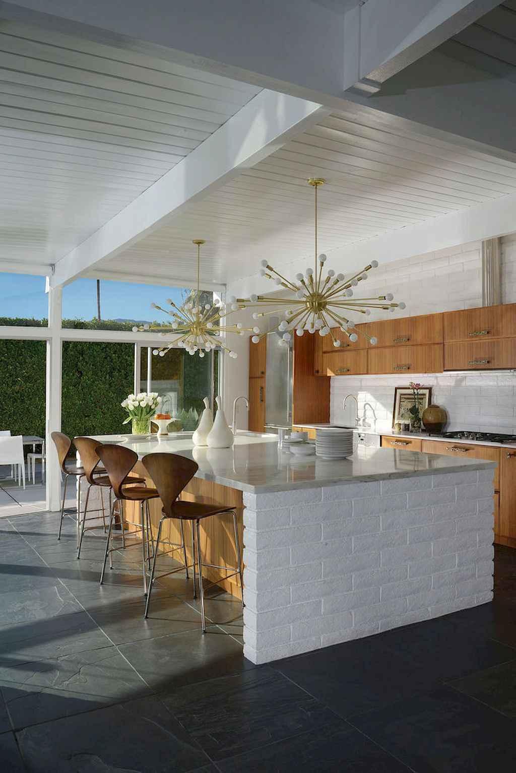 Mid century modern kitchen design ideas (29)