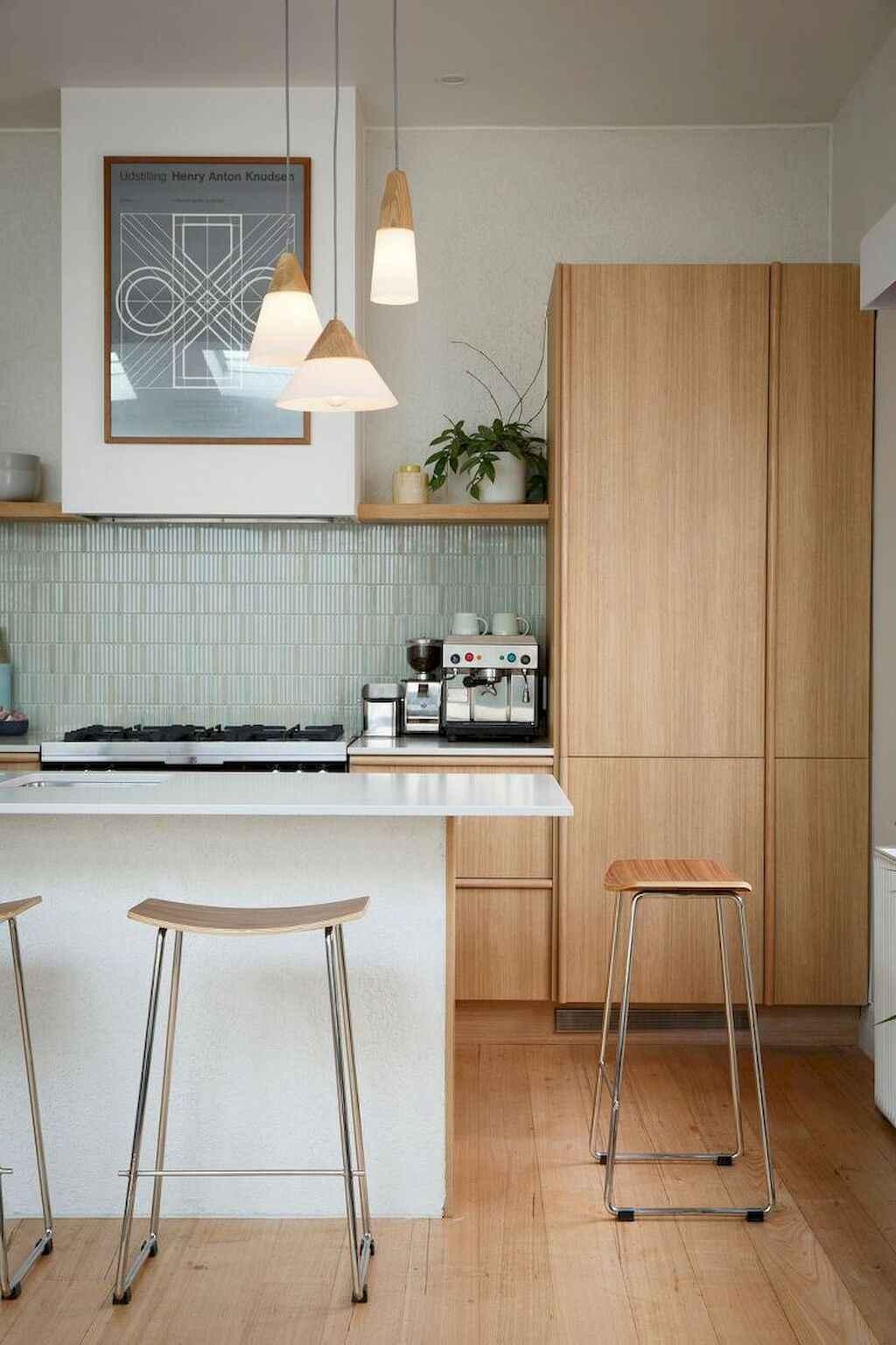 Mid century modern kitchen design ideas (34)