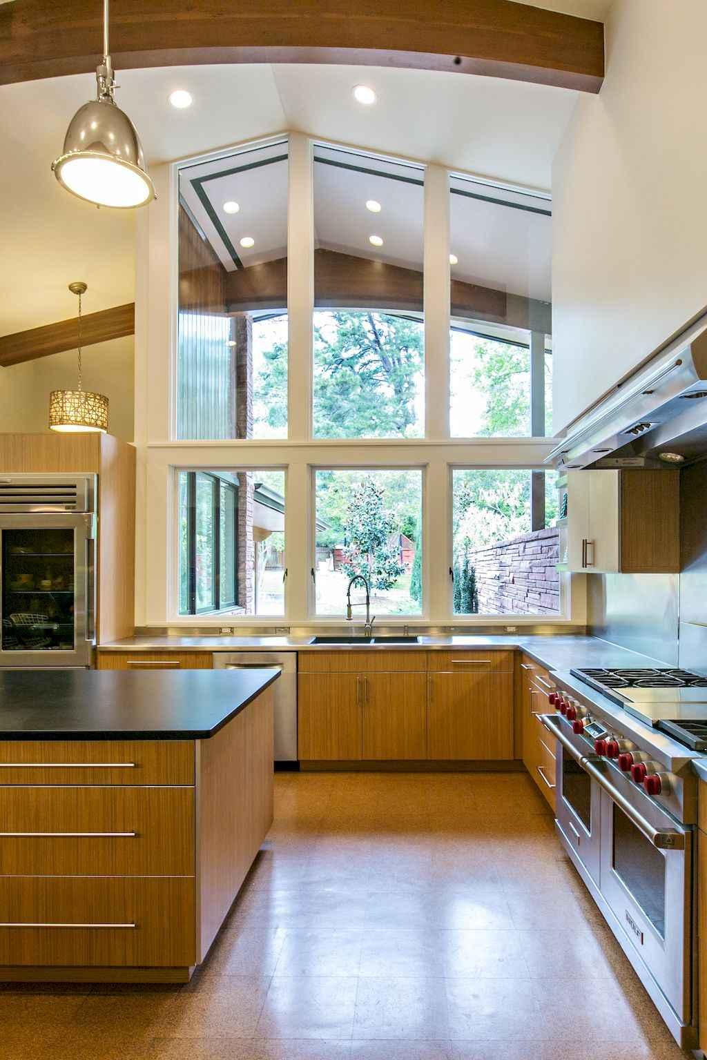 Mid century modern kitchen design ideas (9)