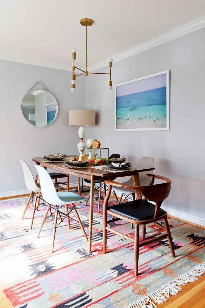 Modern mid century dining room table ideas (1)