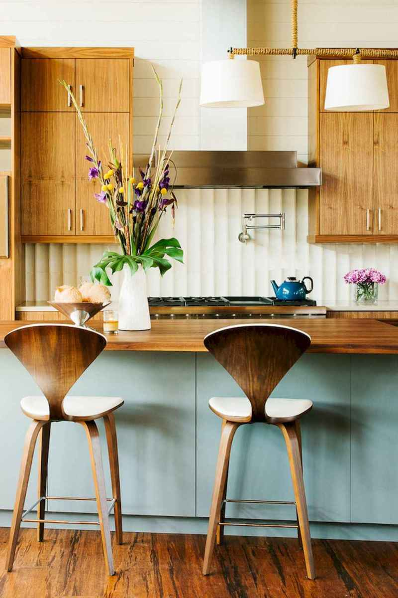 Modern mid century dining room table ideas (22)