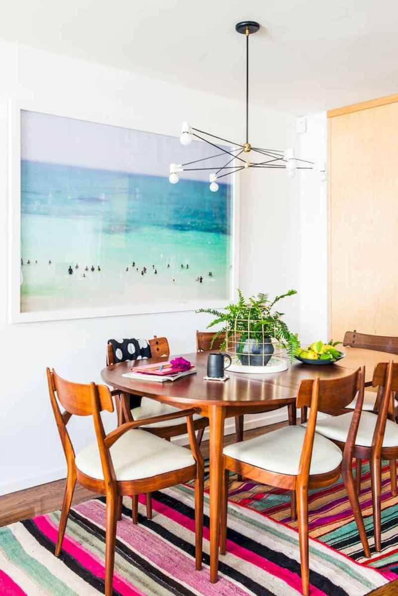 Modern mid century dining room table ideas (33)