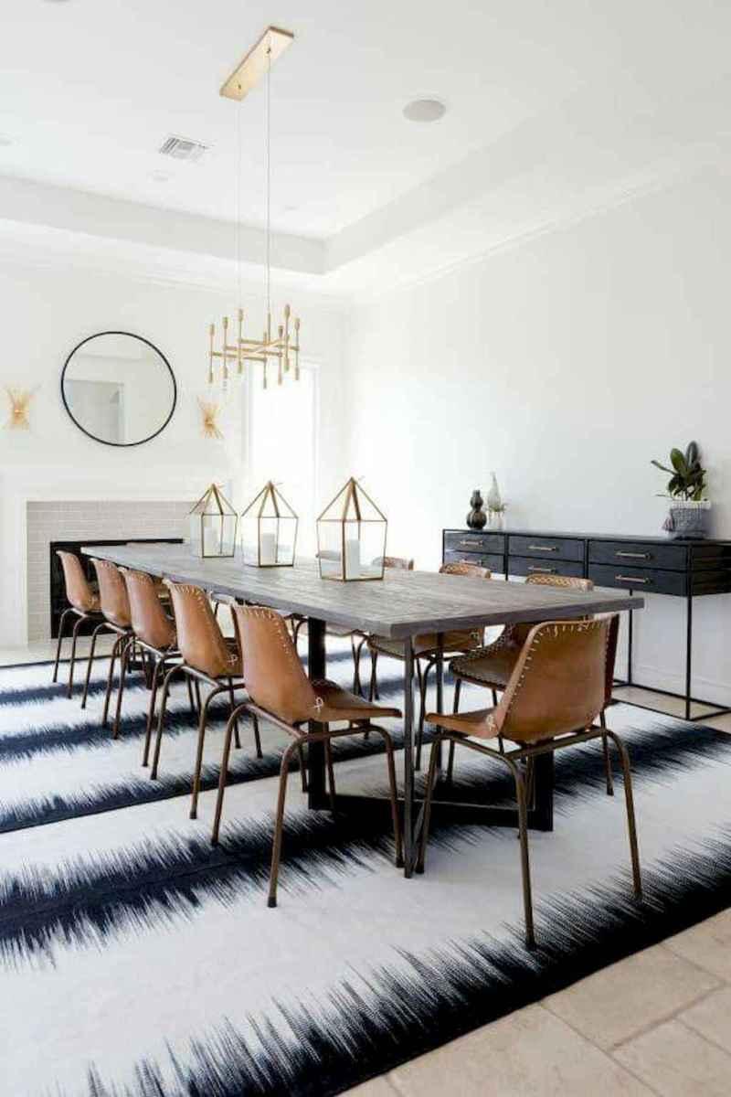 Modern mid century dining room table ideas (35)
