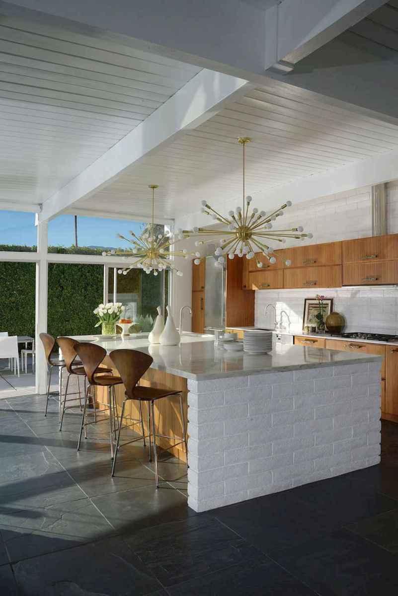 Modern mid century dining room table ideas (4)