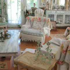 Shabby Chic Living Room Chairs Bar Height Patio Set With Swivel 50 Farmhouse Decor Ideas