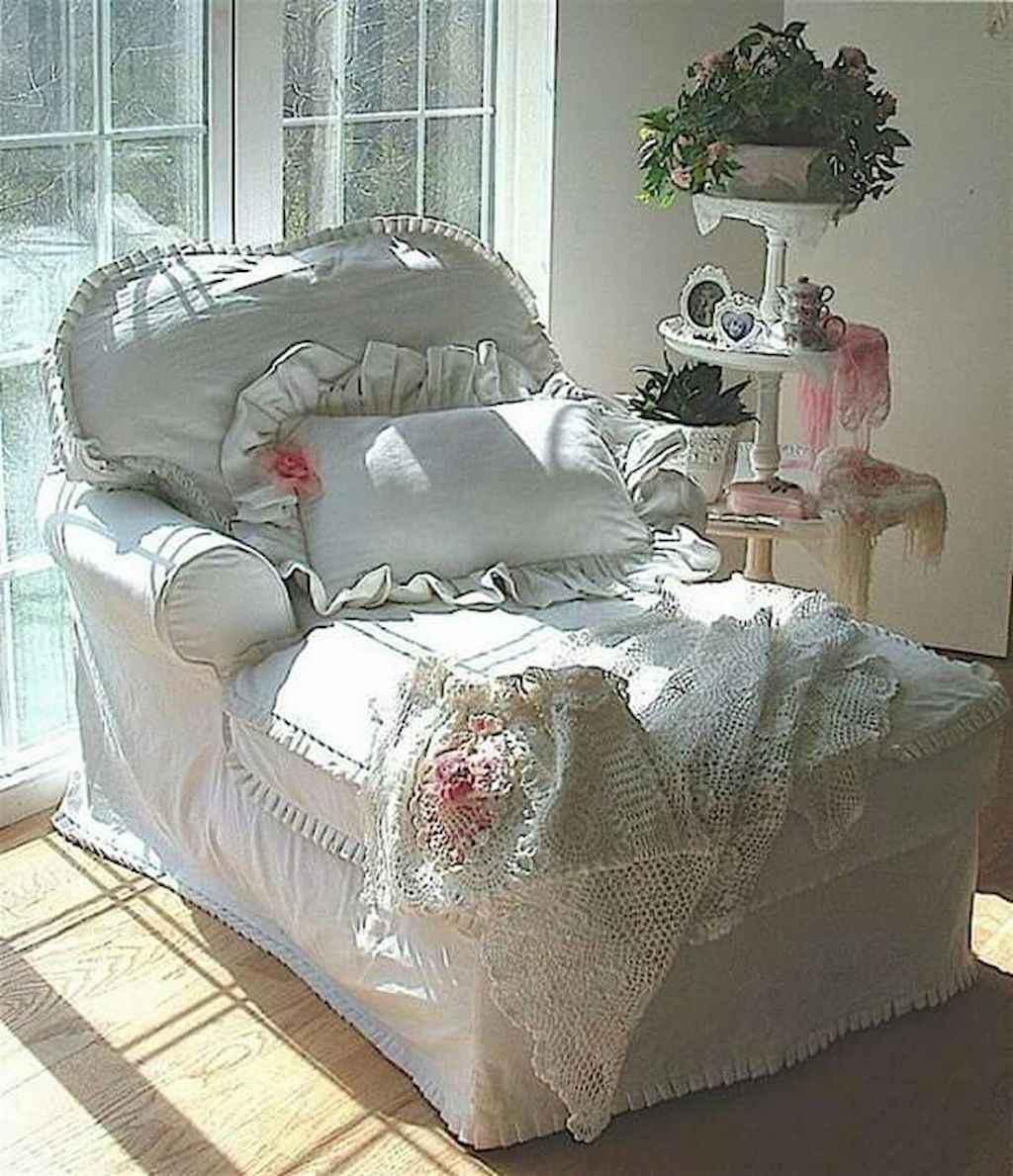 Romantic shabby chic living room decoration ideas (43)
